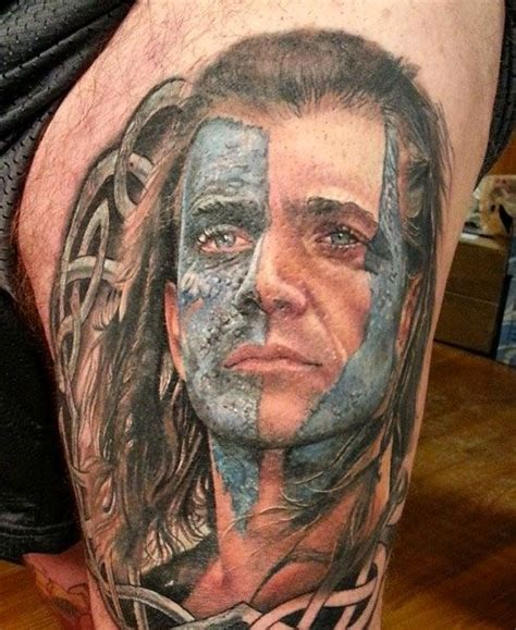 braveheart tattoo designs miller gallery william walace mel gibson