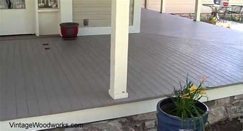 Best Wood For Porch Floor by Porch Flooring Porch Decking Materials Building A Porch