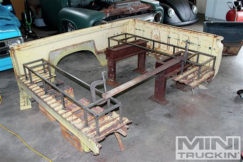 truck bed bench seat chevrolet luv temporary support photo 4