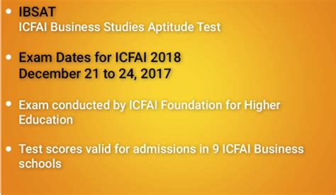 Mba Entrance Exams 2017 18 Dates by Ibsat 2017 Eligibility Syllabus Previous Papers