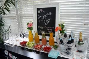 bridal shower mimosa bar bridal brunch