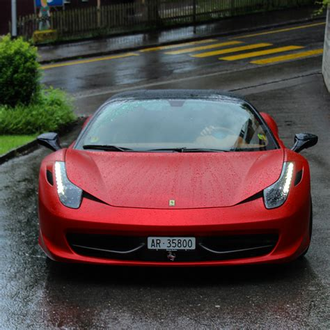 matte red ferrari 458 italia matte red www pixshark com images