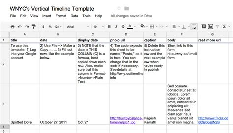 sle event timeline template timeline templates for