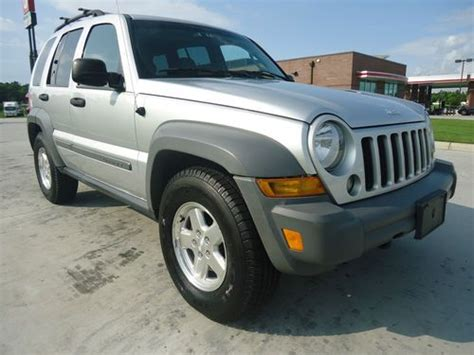 Jeep Liberty Crd For Sale Find Used 2006 Jeep Liberty Crd 4x4 In Sc