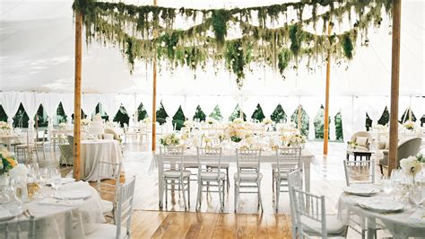 decorating home for wedding 28 tent decorating ideas that will upgrade your wedding reception martha stewart weddings