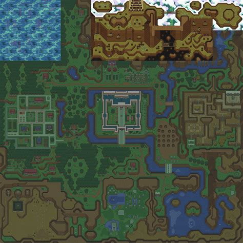 legend of zelda interactive map tloz