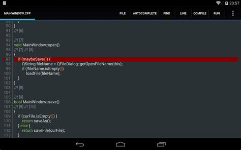 best android ide c4droid c c compiler ide apk for free