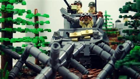 lego ww2 tutorial lego tank trap tutorial youtube