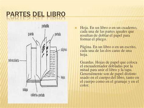 libro el cuerpo lleva la las partes del libro