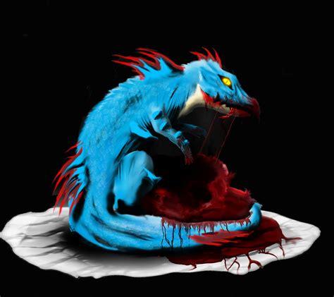 wallpaper karakter biru karakter biru naga wallpaper sc android