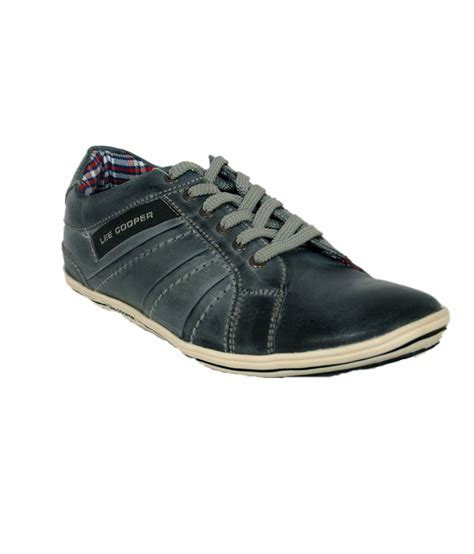 cooper gray leather casual shoes price in india buy