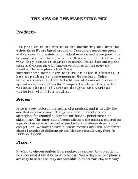 Advertising A Product Speech Sle marketing strategy for launching new mobile phones