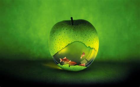 creatively designed apple creative design wallpaper 13 1440x900 wallpaper