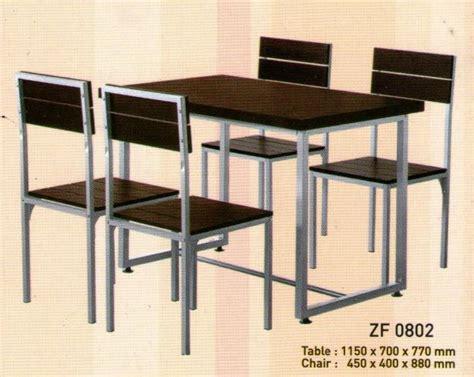 Meja Makan Besi Tempa kursi kayu rangka besi berbagai macam furnitur kayu