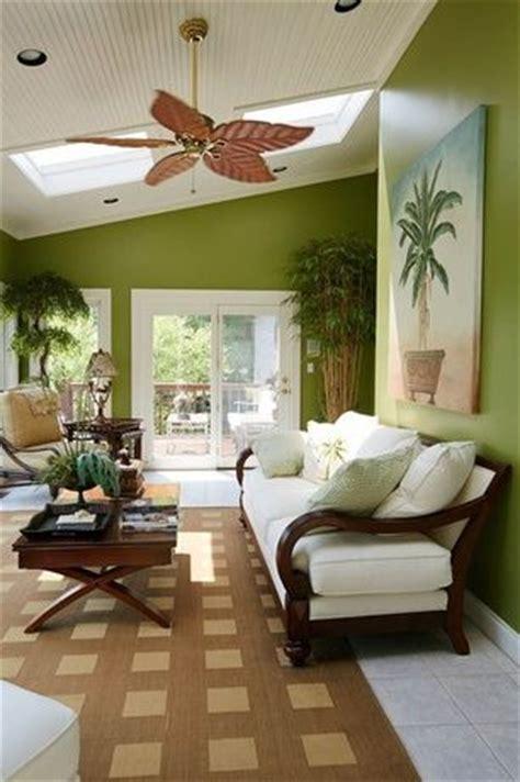 tropical living room  ceiling fan marlite supreme