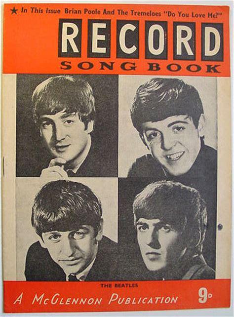 beatles picture book nostalgipalatset record song book beatles
