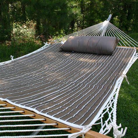 Hammock Pad Cocoa Reversible Sunbrella Hammock Pad Padsamt10