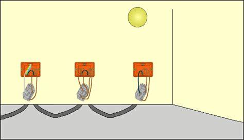 lada comandata da due punti fig 2 4 schema funzionale di un punto luce invertito