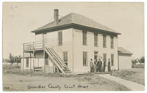 sheridan court house court house sheridan county kansas kansas memory kansas historical society