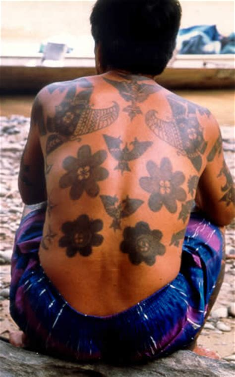 vanishing tattoo history borneo images history of tattoos