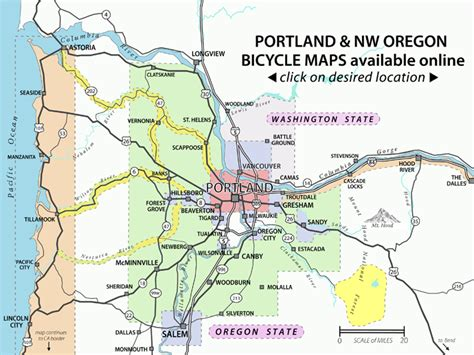 bike and walk maps bicycle portland the city of