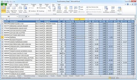 microsoft excel is not inventory software crunchtime