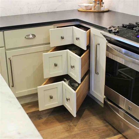 Lazy Susan Corner Base Cabinet For Kitchen Car Interior
