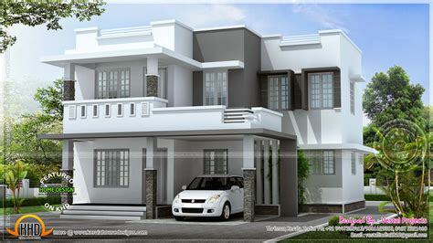 Designer House Plans Simple Beautiful House Kerala Home Design Floor Plans Building Plans 55122