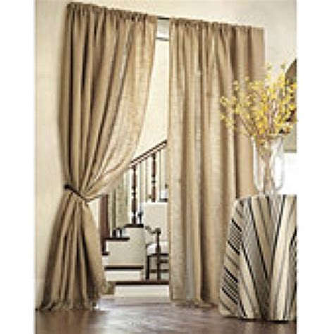burlap curtains pinterest burlap curtains home and house pinterest