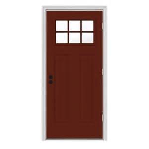 steel entry doors home depot masonite 32 in x 80 in mini blind painted steel prehung