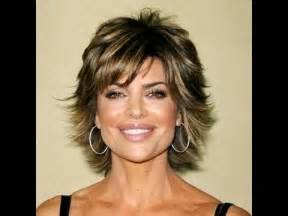 cutting rinna haircut part 2 of 2 how to cut and style your hair like lisa