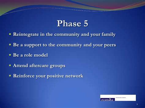 Detox Stabilze Aftercare Treatment Phase by The Portage Therapeutic Community Addiction