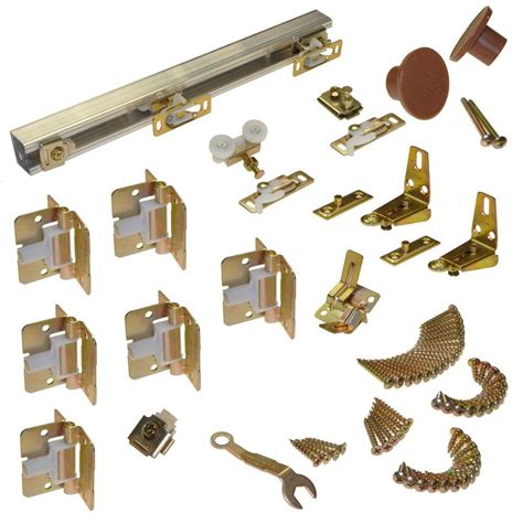 Johnson Hardware 111fd Series 96 In Track And Hardware Bifold Closet Door Track Hardware