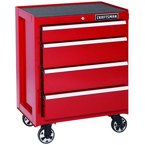 craftsman 26 4 drawer tool chest craftsman 113669 26 in 4 drawer ball bearing