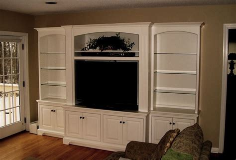 hand crafted painted built in tv cabinetry by tony o hand crafted built in wall unit for widescreen tv in
