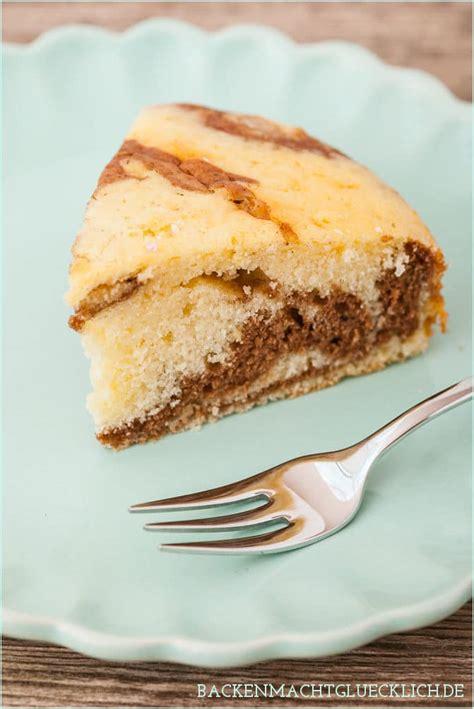 wolke kuchen rezept zebrakuchen mit sahne statt butter backen macht gl 252 cklich