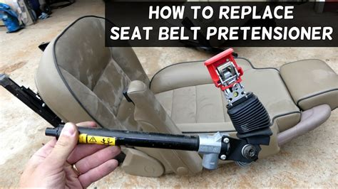 how to replace belts youtube how to replace seat belt pretensioner youtube