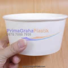 Paper Bowl 650 Ml Tanpa Tutup primagraha plastik khusus menjual packaging makanan take