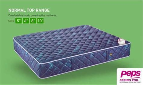 peps koil bed mattress peps spine guard bed
