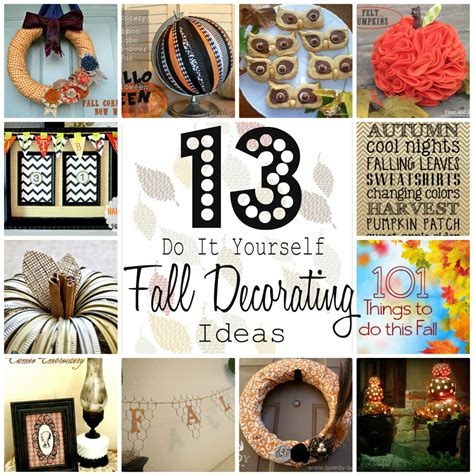 fall diy decorating ideas do it yourself decorating for fall tutes tips not to