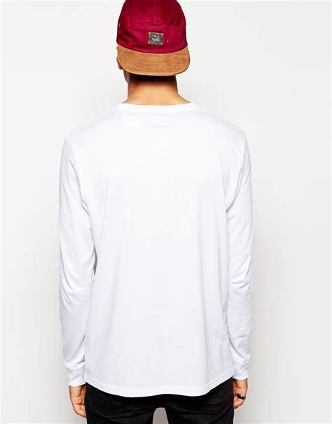 Kaos Billionaire Boys Club Longsleeve T Shirt Skate lyst asos skater sleeve t shirt with yeezus print