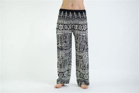 tribal pattern harem pants tribal prints women s harem pants in black
