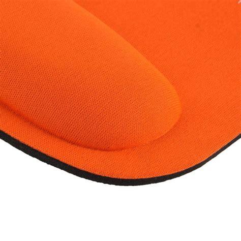 Tapis De Souris Ergonomique by Tapis De Souris Ergonomique Repose Poignet Ultra Fin Orange