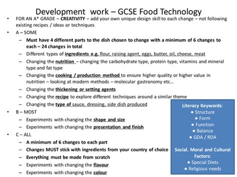 Home Economics Food Design And Technology Aqa Home Economics Coursework Cardiacthesis X Fc2