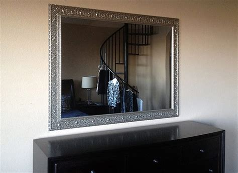 mirrors for dining room silver framed dining room mirror