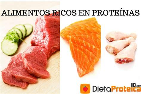 los mejores alimentos ricos en proteinas actualizacion