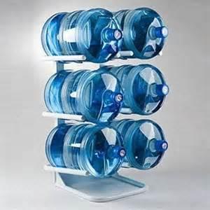 5 gallon water bottle storage rack images
