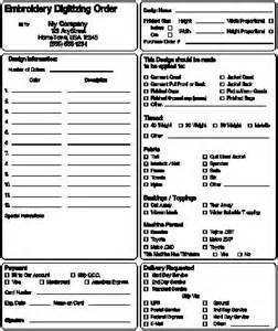 embroidery order form template free best photos of simple embroidery order forms embroidery