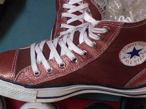 Sepatu All Yang Tinggi jual sepatu converse kw1 all tinggi coklat spoke shoes