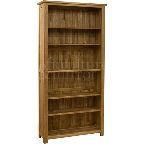 oregon large bookcase furniture and mirror